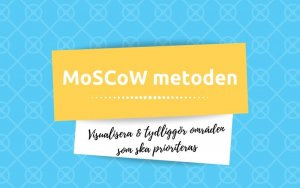 MoSCoW metoden prioritera